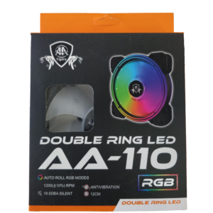 AA110 DOUBLE RING RGB FAN