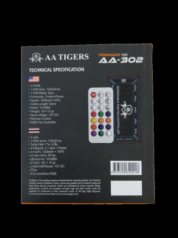AA302 RGB FAN SET